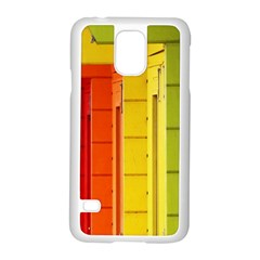 Abstract Minimalism Architecture Samsung Galaxy S5 Case (White)