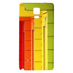 Abstract Minimalism Architecture Galaxy Note 4 Back Case