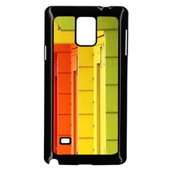 Abstract Minimalism Architecture Samsung Galaxy Note 4 Case (Black)
