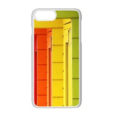Abstract Minimalism Architecture Apple Iphone 7 Plus White Seamless Case