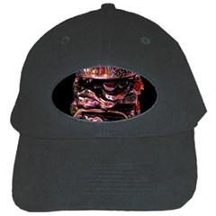 Hamburgers Digital Art Colorful Black Cap