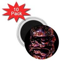 Hamburgers Digital Art Colorful 1 75  Magnets (10 Pack)