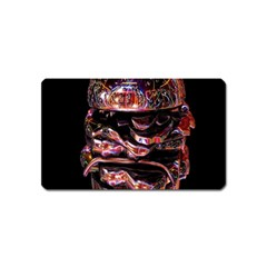 Hamburgers Digital Art Colorful Magnet (name Card)