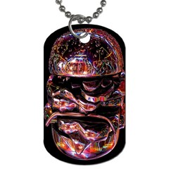 Hamburgers Digital Art Colorful Dog Tag (two Sides)