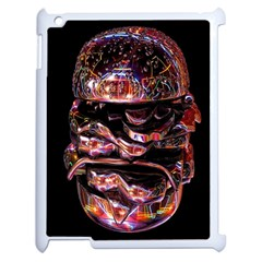 Hamburgers Digital Art Colorful Apple iPad 2 Case (White)