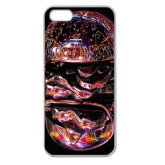 Hamburgers Digital Art Colorful Apple Seamless iPhone 5 Case (Clear)