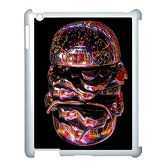 Hamburgers Digital Art Colorful Apple iPad 3/4 Case (White)