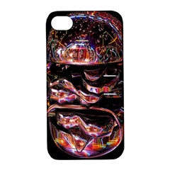 Hamburgers Digital Art Colorful Apple iPhone 4/4S Hardshell Case with Stand