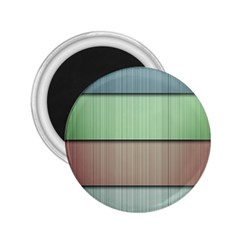 Lines Stripes Texture Colorful 2.25  Magnets