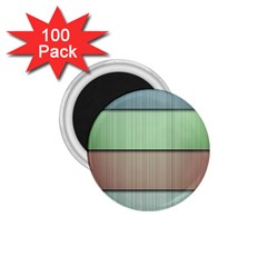 Lines Stripes Texture Colorful 1 75  Magnets (100 Pack)