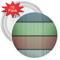 Lines Stripes Texture Colorful 3  Buttons (10 Pack)