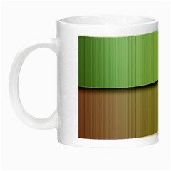Lines Stripes Texture Colorful Night Luminous Mugs