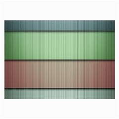 Lines Stripes Texture Colorful Large Glasses Cloth (2 Side)