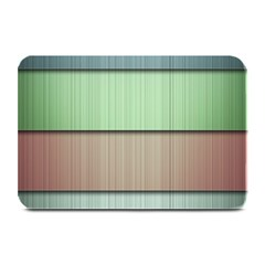 Lines Stripes Texture Colorful Plate Mats
