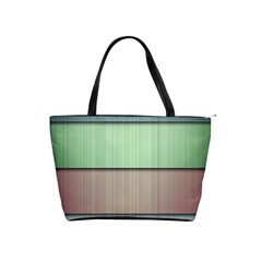 Lines Stripes Texture Colorful Shoulder Handbags