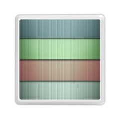 Lines Stripes Texture Colorful Memory Card Reader (square)