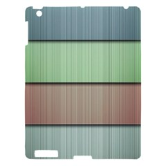 Lines Stripes Texture Colorful Apple iPad 3/4 Hardshell Case