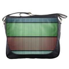 Lines Stripes Texture Colorful Messenger Bags