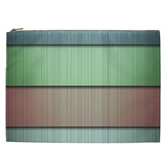 Lines Stripes Texture Colorful Cosmetic Bag (XXL)