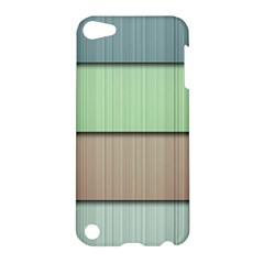 Lines Stripes Texture Colorful Apple iPod Touch 5 Hardshell Case