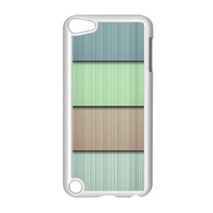 Lines Stripes Texture Colorful Apple iPod Touch 5 Case (White)
