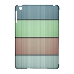 Lines Stripes Texture Colorful Apple iPad Mini Hardshell Case (Compatible with Smart Cover)