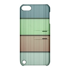 Lines Stripes Texture Colorful Apple Ipod Touch 5 Hardshell Case With Stand