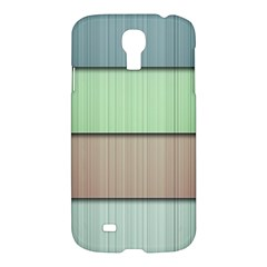 Lines Stripes Texture Colorful Samsung Galaxy S4 I9500/I9505 Hardshell Case