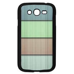 Lines Stripes Texture Colorful Samsung Galaxy Grand DUOS I9082 Case (Black)