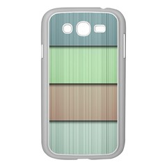 Lines Stripes Texture Colorful Samsung Galaxy Grand DUOS I9082 Case (White)