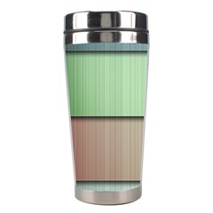 Lines Stripes Texture Colorful Stainless Steel Travel Tumblers