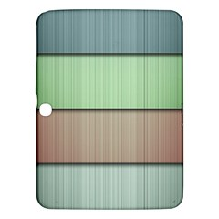 Lines Stripes Texture Colorful Samsung Galaxy Tab 3 (10.1 ) P5200 Hardshell Case