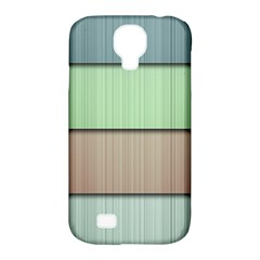 Lines Stripes Texture Colorful Samsung Galaxy S4 Classic Hardshell Case (PC+Silicone)