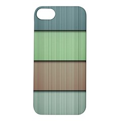 Lines Stripes Texture Colorful Apple iPhone 5S/ SE Hardshell Case