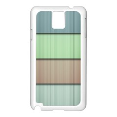 Lines Stripes Texture Colorful Samsung Galaxy Note 3 N9005 Case (White)