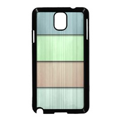 Lines Stripes Texture Colorful Samsung Galaxy Note 3 Neo Hardshell Case (Black)