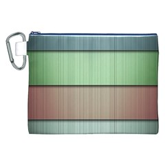 Lines Stripes Texture Colorful Canvas Cosmetic Bag (XXL)