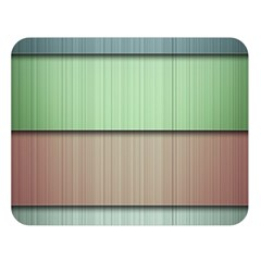 Lines Stripes Texture Colorful Double Sided Flano Blanket (Large)