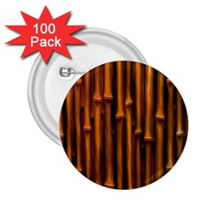 Abstract Bamboo 2 25  Buttons (100 Pack)