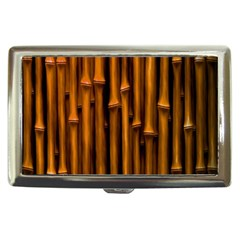 Abstract Bamboo Cigarette Money Cases