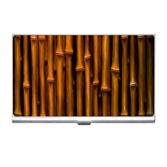 Abstract Bamboo Business Card Holders