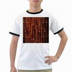 Abstract Bamboo Ringer T-Shirts
