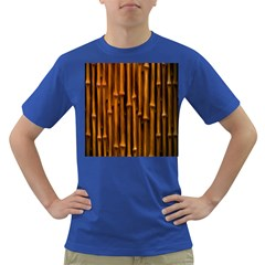 Abstract Bamboo Dark T Shirt