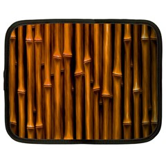 Abstract Bamboo Netbook Case (large)