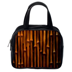 Abstract Bamboo Classic Handbags (one Side)