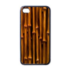 Abstract Bamboo Apple Iphone 4 Case (black)