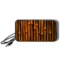 Abstract Bamboo Portable Speaker (Black)
