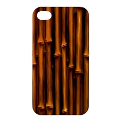 Abstract Bamboo Apple iPhone 4/4S Hardshell Case