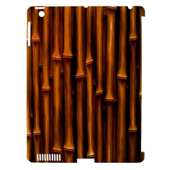 Abstract Bamboo Apple iPad 3/4 Hardshell Case (Compatible with Smart Cover)