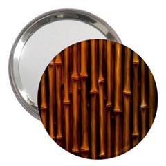 Abstract Bamboo 3  Handbag Mirrors
